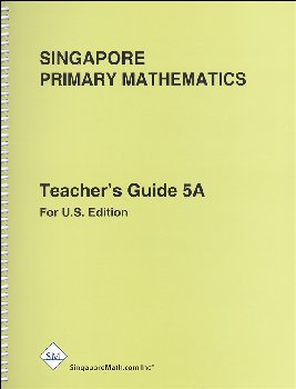 Primary Math US 5A Teacher Guide rev ed