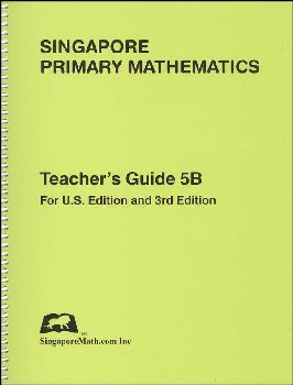 Primary Math US 5B Teacher Guide