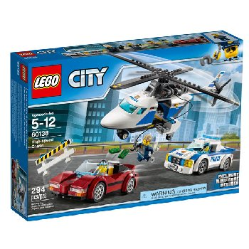 LEGO City Police High-speed Chase (60138)