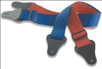 Guitar Strap w/ Pick (Assorted Colors)
