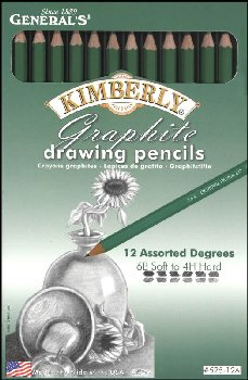 Kimberly Graphite Drawing Pencils (Assorted Degrees)
