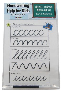 Create Cursive Write-On Kit (HHK)