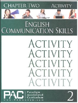 English Communication Skills: Chapter 2 Activities