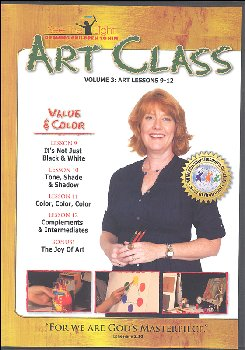 Art Class Volume 3 Lessons 9-12 on DVD