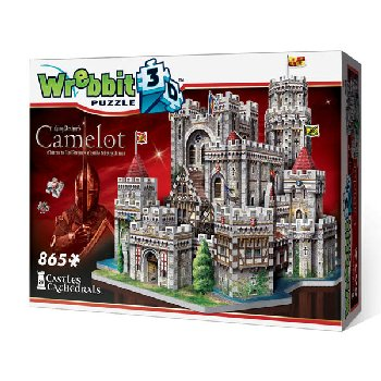 King Arthur's Camelot 3D Puzzle (865 pieces)
