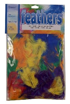 Bright Feathers - Assorted Colors (14 grams)