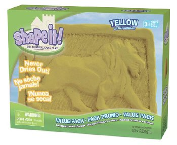 Shape It! Sand Yellow (5 lb.)
