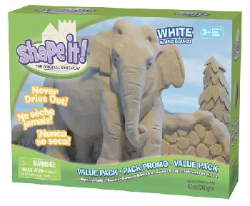 Shape It! Sand White (5 lb.)