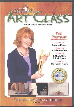 Art Class Volume 9 Lessons 33-36 on DVD