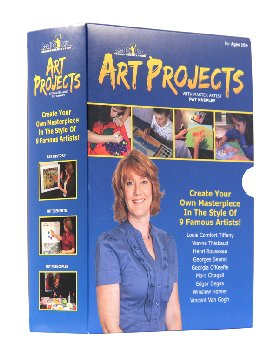 Art Projects Boxed Set of 9 DVDs
