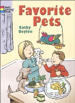 Favorite Pets Coloring Book