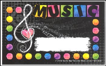 Music Love Incentive Punch Card