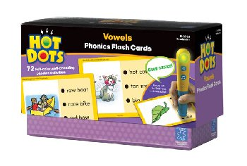 Vowels Hot Dots Set 3