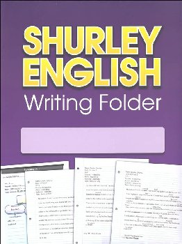 Shurley English Writing Folder