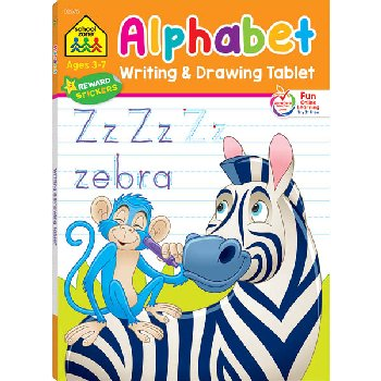 Alphabet Writing & Drawing Tablet