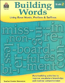Building Words - Using Base Words, Prefixes & Suffixes: Grade 2
