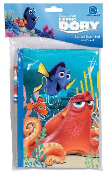 Finding Dory: Scratch & Sniff Sketch Pad - Blueberry Pie
