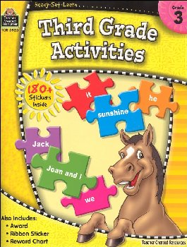 Third Grade Activities (Ready, Set, Learn)