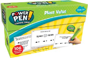 Power Pen Learning Cards: Place Value