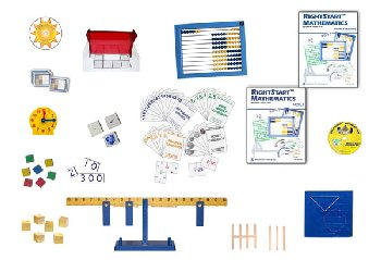 RightStart Mathematics Starter Kit Level B with AL Abacus Standard (1st Edition)