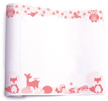 Fox & Woodland Animals Create & Doodle Roll Art Paper