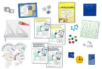 RightStart Mathematics Starter Kit Level C with AL Abacus Standard (1st Edition)