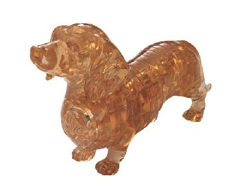3D Crystal Puzzle - Dachshund