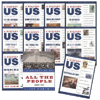 History of US 11-Volume Set 3rd Edition Revised with Sourcebook