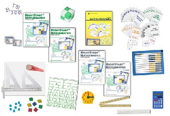 RightStart Mathematics Starter Kit Level D with AL Abacus Standard (1st Edition)