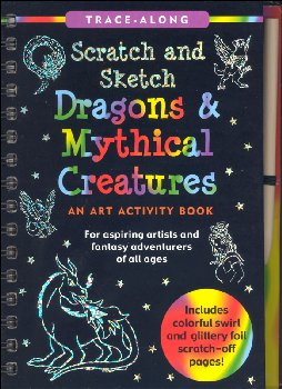 Dragons & Mythical Creatures Scratch and Sketch Activity Book