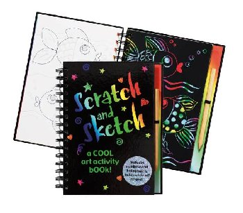 Scratch and Sketch: A Cool Art Activity Book