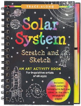 Solar System Scratch and Sketch Activity Book