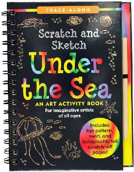 Under the Sea Scratch and Sketch Activity Book