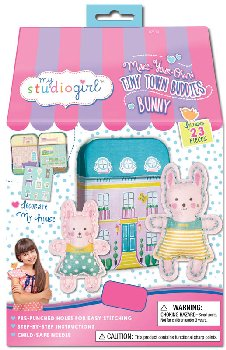 Make-Your-Own Tiny Town Buddies - Bunny