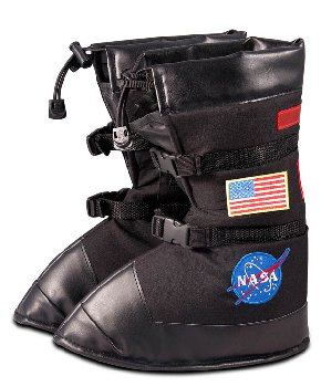 Astronaut Boots - Black (Medium)