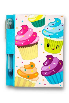 Yummy Sketch & Sniff Note Pad - Cupcake