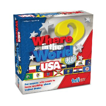 Where in the World? USA Edition Game!