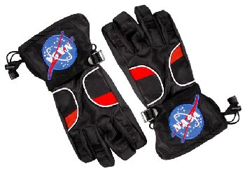 Astronaut Gloves - Black (Medium)