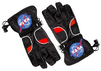 Astronaut Gloves - Black (Small)