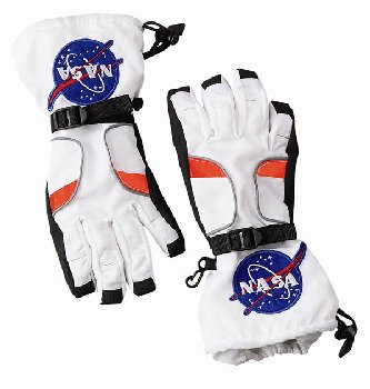 Astronaut Gloves - White (Large)