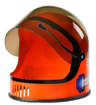 Astronaut Helmet - Orange (youth size)