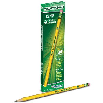 Dixon Ticonderoga #2 - box of 12