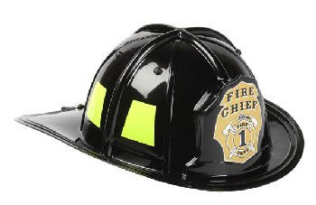 Junior Firefighter Helmet - Black
