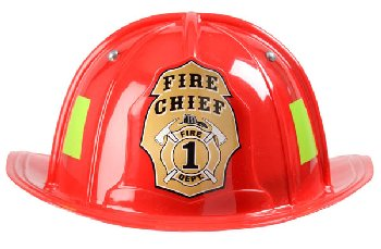Junior Firefighter Helmet - Red