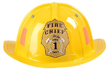 Junior Firefighter Helmet - Yellow