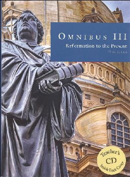 Omnibus III Student Text w/ Teacher CD-ROM (4th Edition)