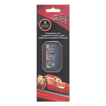 Cars 3 Sticker Party Pack