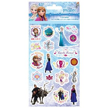 Disney Frozen Standard Stickers (4 Sheet)