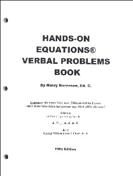 Hands-On Equations Verbal Problems Book 5ED