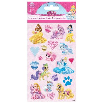 Disney Palace Pets Standard Stickers (4 Sheet)